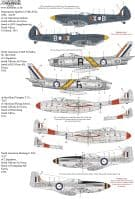 Xtradecal 1/72 SAAF Fighters/Attack Aircraft Post War to Modern Day Collection Pt1 # 72323